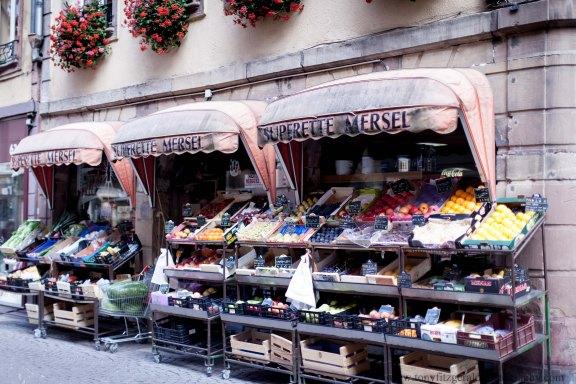 Strasbourg France market