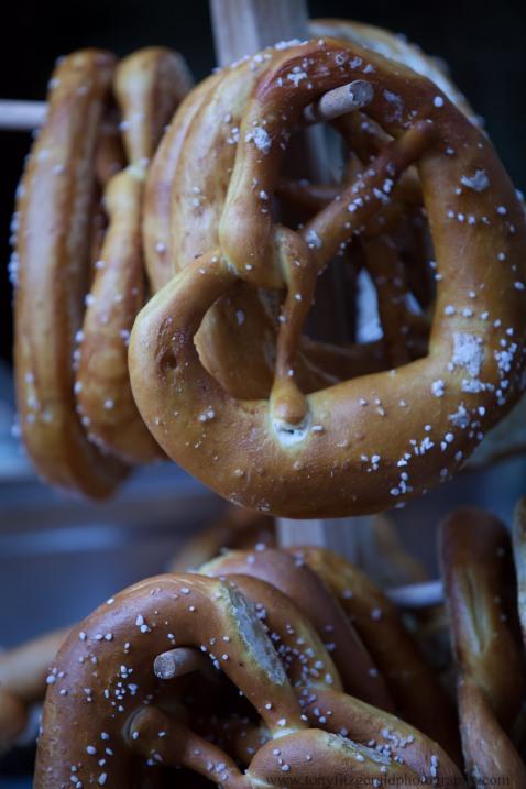 Strasbourg France, pretzels