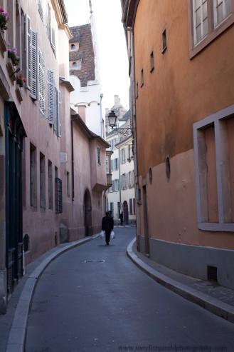Strasbourg France, side street
