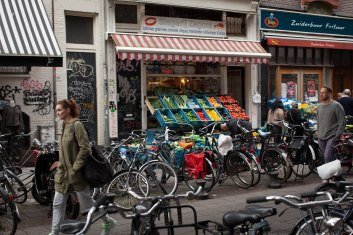 bicycles in Amstedam