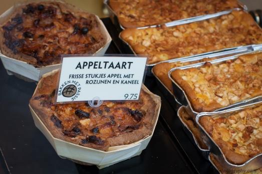 Appeltaart in Amsterdam market