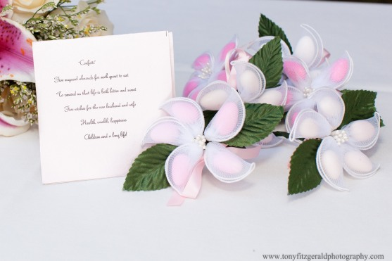 Almonds as wedding favors