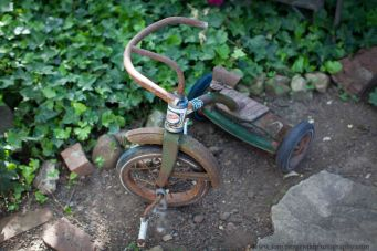 Children's antique tricycle