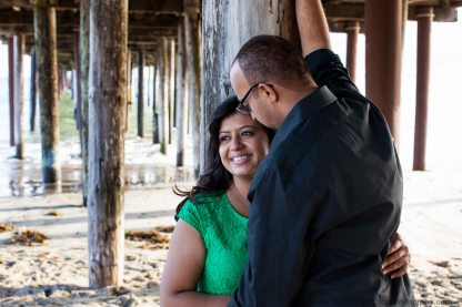 Engagement Photos at Seacliff Beach in Capitola California