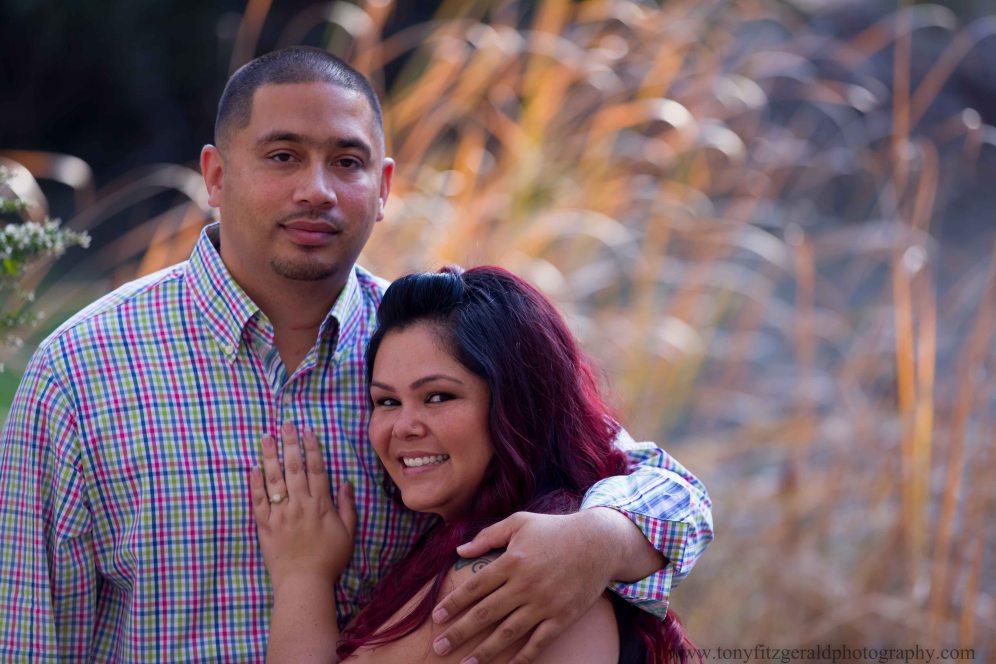 Engagement photos at Natural Bridges (1 of 6)