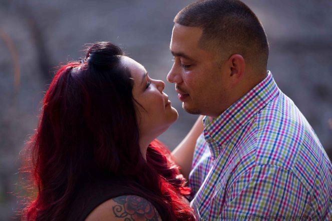 Engagement photos at Natural Bridges (2 of 6)
