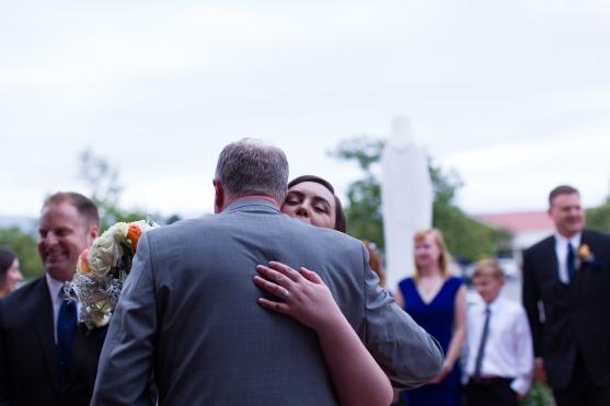 St. Lucy Parish wedding